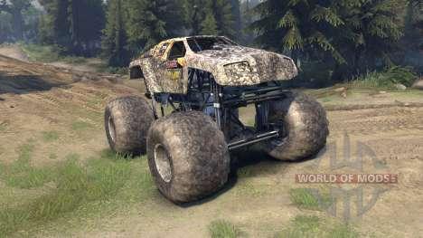 Monster Maximus für Spin Tires