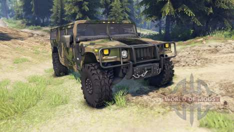 Hummer H1 camo pour Spin Tires