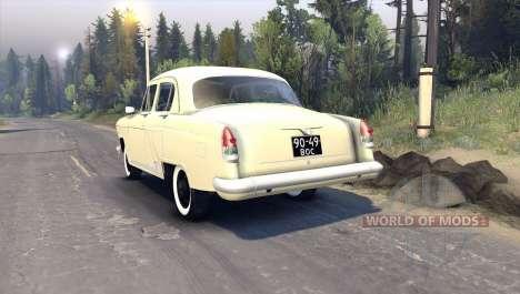 GAZ-21 für Spin Tires