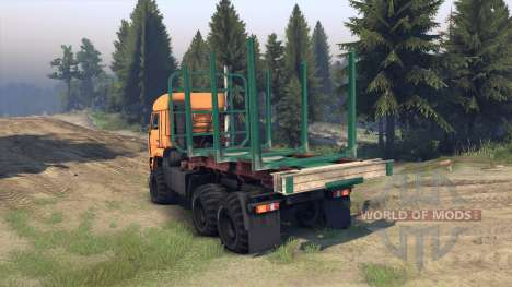 KamAZ-65115 für Spin Tires