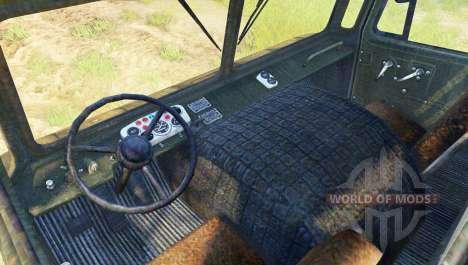 GAZ-SAZ-3511-66 pour Spin Tires