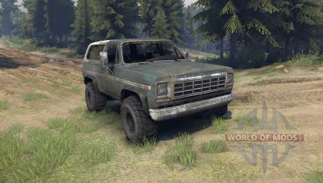 Ford Bronco pour Spin Tires