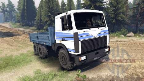 MAZ-642208 pour Spin Tires