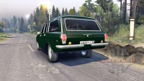 GAZ-24-12 pour Spin Tires