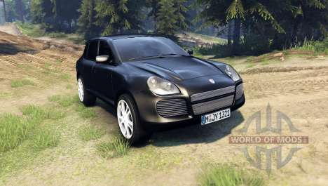 Porsche Cayenne pour Spin Tires