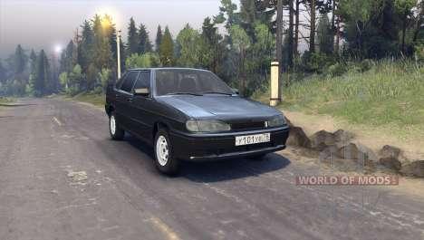 VAZ-2115-Finale für Spin Tires