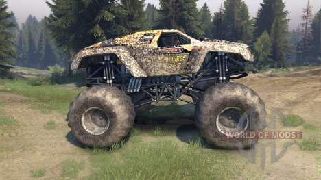 Monster Maximus pour Spin Tires