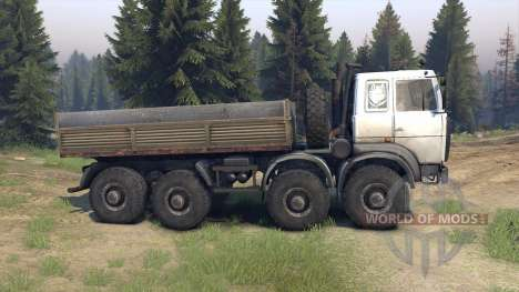 MZKT-6527 pour Spin Tires