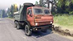 KamAZ-5511 rouge grille