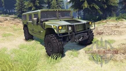 Hummer H1 green für Spin Tires
