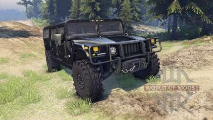 Hummer H1 black pour Spin Tires