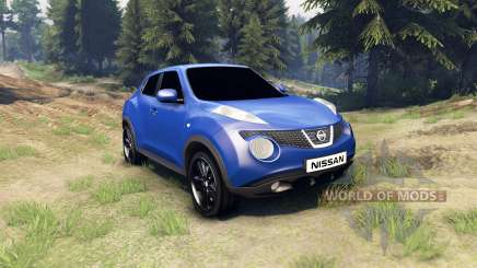 Nissan Juke pour Spin Tires