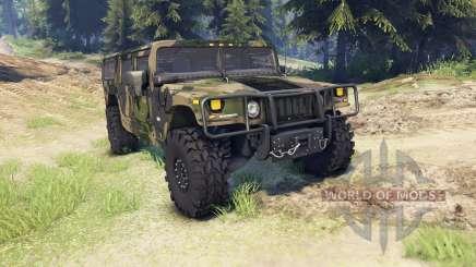 Hummer H1 camo für Spin Tires