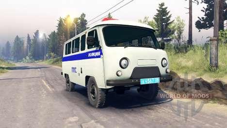UAZ-3909 PPP für Spin Tires