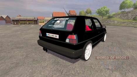 Volkswagen Golf Mk2 GTI v2.0 für Farming Simulator 2013