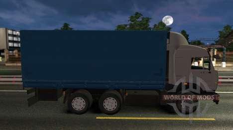 KamAZ 43118 mit dem Rad für Euro Truck Simulator 2