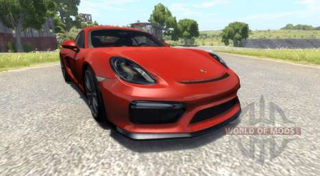 Porsche Cayman GT4 pour BeamNG Drive