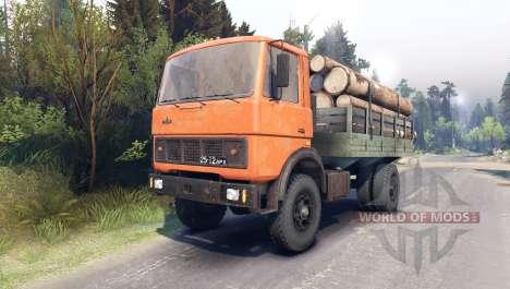 MAZ-5337 pour Spin Tires