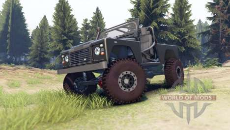 Land Rover Defender 90 [open top] für Spin Tires