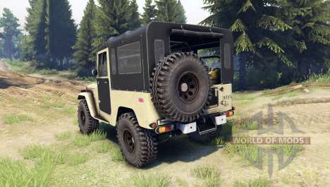 Toyota Land Cruiser (J40) pour Spin Tires