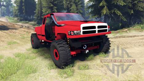 Dodge Ram 1500 [chopped] pour Spin Tires