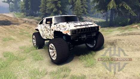 Hummer HX v2.0 für Spin Tires