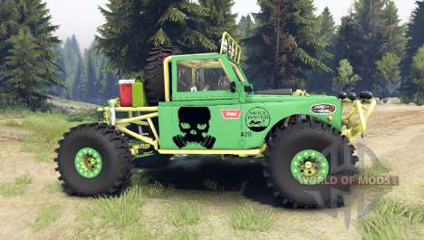 Toyota Land Cruiser Stetson pour Spin Tires