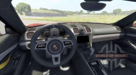 Porsche Cayman GT4 für BeamNG Drive