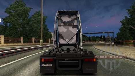Volvo VNL 670 Urban Camo Skin pour Euro Truck Simulator 2