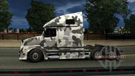 Volvo VNL 670 Urban Camo Skin für Euro Truck Simulator 2