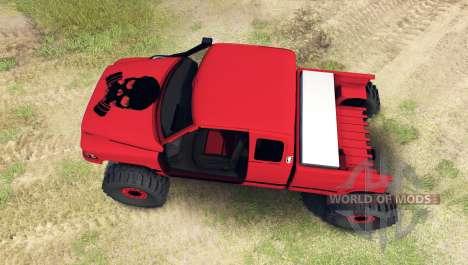 Dodge Ram 1500 [chopped] für Spin Tires