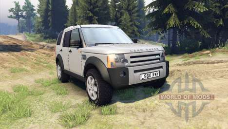 Land Rover Discovery pour Spin Tires