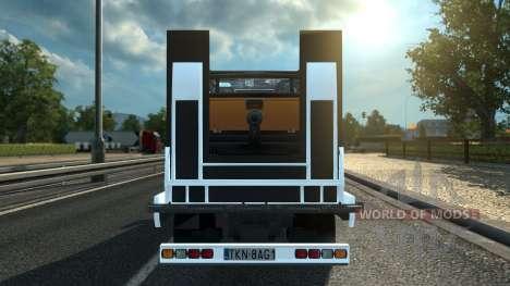 Sprinter Mega Mod v1 für Euro Truck Simulator 2