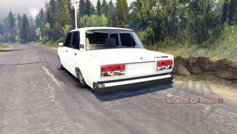 VAZ-2107 für Spin Tires