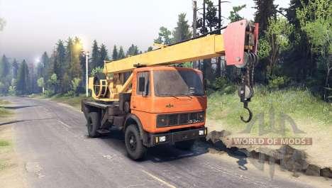 MAZ-5337 für Spin Tires