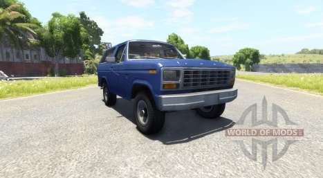 Ford Bronco 1980 für BeamNG Drive