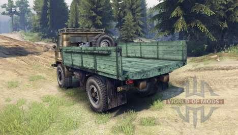 GAZ-66 diesel pour Spin Tires
