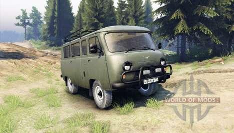 UAZ-2206 für Spin Tires