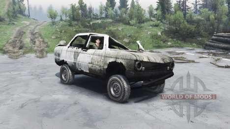ZAZ-968 M pour Spin Tires