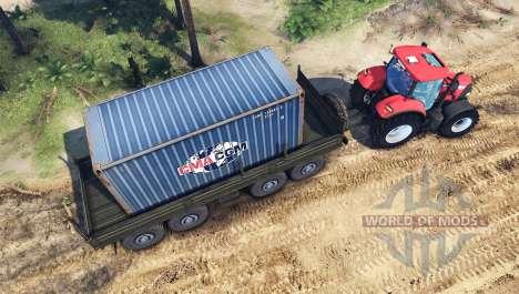 Case IH Puma CVX 160 für Spin Tires