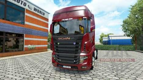 Scania R700 v2.2 für Euro Truck Simulator 2