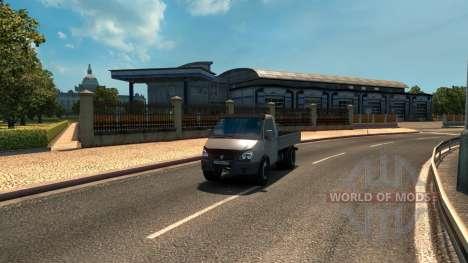 GAZ 3302 pour Euro Truck Simulator 2