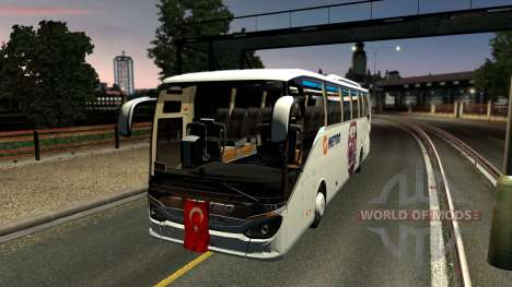 Setra 516 HDH Bus Mod First and Only pour Euro Truck Simulator 2