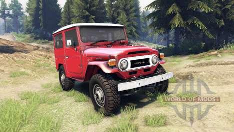 Toyota Land Cruiser (J40) für Spin Tires