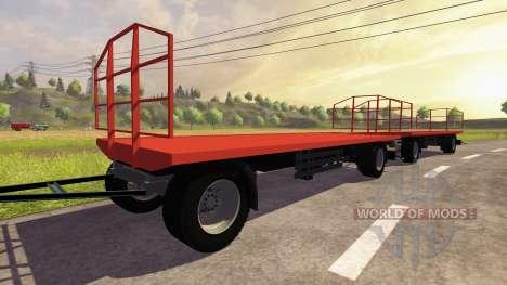 La remorque Agroliner bale pour Farming Simulator 2013