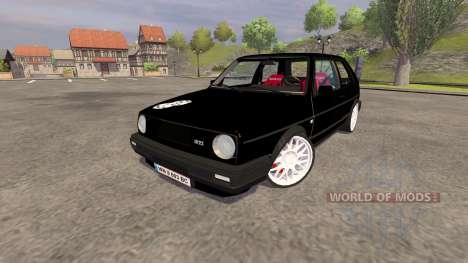 Volkswagen Golf Mk2 GTI v2.0 pour Farming Simulator 2013