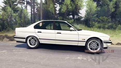 BMW M5 (E34) 1995 v1.1 pour Spin Tires