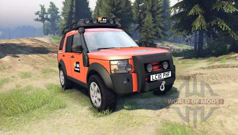Land Rover Discovery für Spin Tires