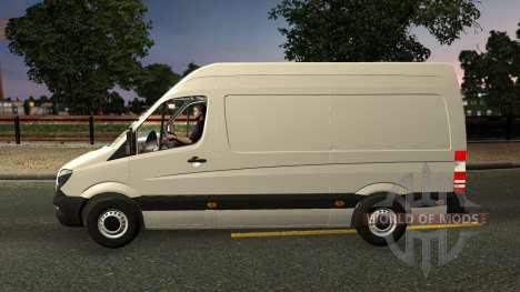 Mercedes-Benz Sprinter CDI311 2014 für Euro Truck Simulator 2