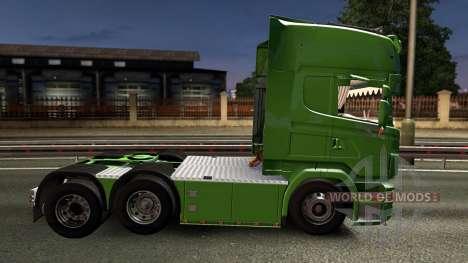 Scania R620 Bring 2.0 für Euro Truck Simulator 2